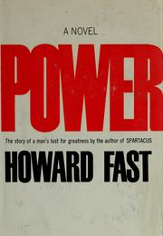 Cover of: Power: a novel.