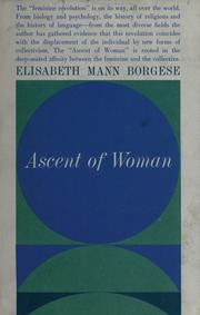 Cover of: Ascent of woman