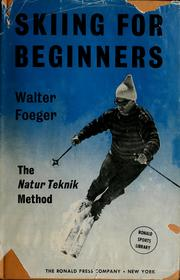 Cover of: Skiing for beginners
