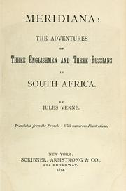 Cover of: Meridiana: The adventures of three Englishmen and three Russians in South Africa.