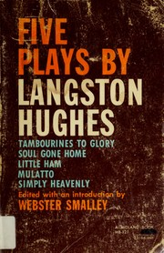 Cover of: Five plays: Edited with an introd. by Webster Smalley.