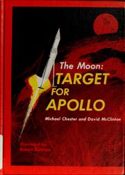 Cover of: The moon: target for Apollo