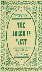 Cover of: Stories of the American West