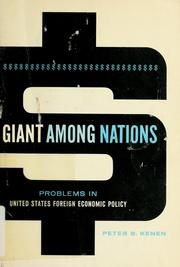 Cover of: Giant among nations