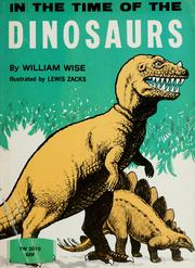 Cover of: In the time of the dinosaurs