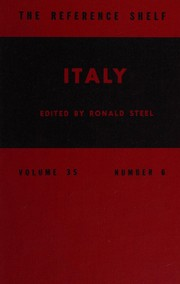 Cover of: Italy