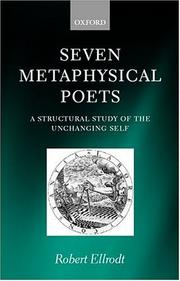 Cover of: Seven metaphysical poets