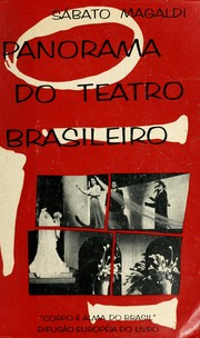 Cover of: Panorama do teatro brasileiro