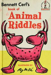 Cover of: Book of animal riddles