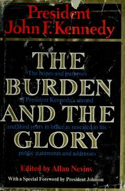 Cover of: The burden and the glory