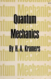 Cover of: Quantum mechanics