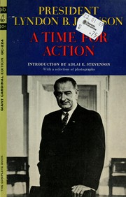 Cover of: A time for action