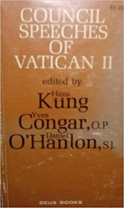 Cover of: Council Speeches of Vatican II