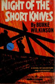Cover of: Night of the short knives