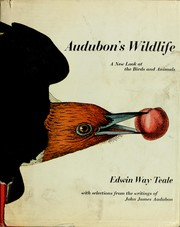 Cover of: Audubon's wildlife: with selections from the writings of John James Audubon.