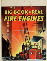 Cover of: The big book of real fire engines