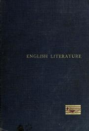 Cover of: English literature