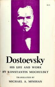 Cover of: Dostoevsky