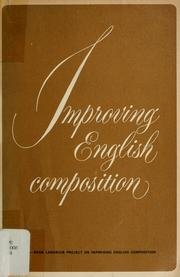 Cover of: Improving English composition