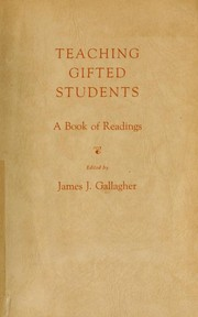 Cover of: Teaching gifted students