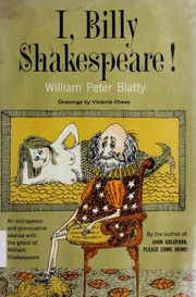 Cover of: I, Billy Shakespeare