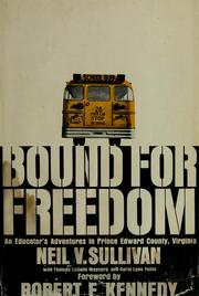 Cover of: Bound for freedom