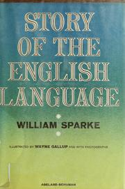 Cover of: Story of the English language