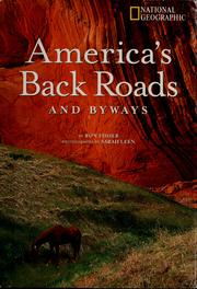 Cover of: America's back roads and byways