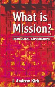 Cover of: What is mission?