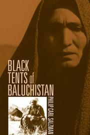 Cover of: Black tents of Baluchistan