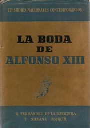 Cover of: La boda de Alfonso XIII