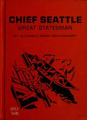 Cover of: Chief Seattle: great statesman