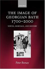 Cover of: The image of Georgian Bath, 1700-2000