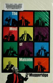 Cover of: The most of Malcolm Muggeridge