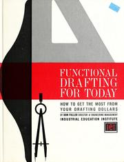 Cover of: Functional drafting for today