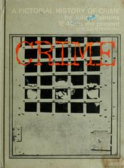 Cover of: A pictorial history of crime