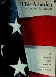 Cover of: This America