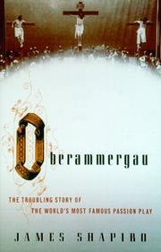 Cover of: Oberammergau