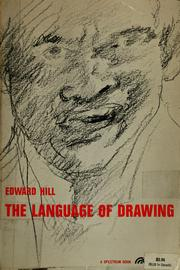 Cover of: The language of drawing