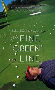 Cover of: The fine green line