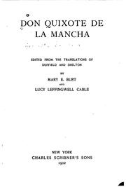 Cover of: The life and achievements of Don Quixote de la Mancha