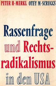 Cover of: Rassenfrage und Rechtsradikalismus in den USA