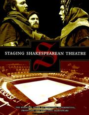 Cover of: Staging Shakespearean theatre