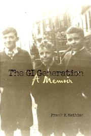 Cover of: The GI generation
