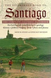 Cover of: The pilgrimage road to Santiago
