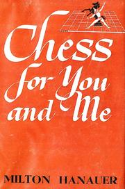 Cover of: Chess for you and me.