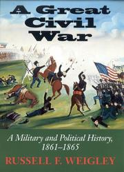 Cover of: A great Civil War