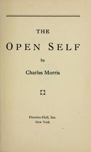 Cover of: The open self