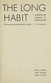 Cover of: The long habit