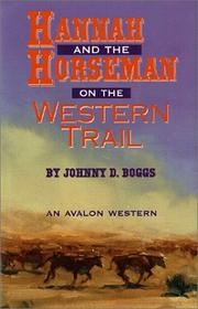 Cover of: Hannah and the horseman on the Western Trail